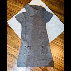 Sweater project gray sweater dress